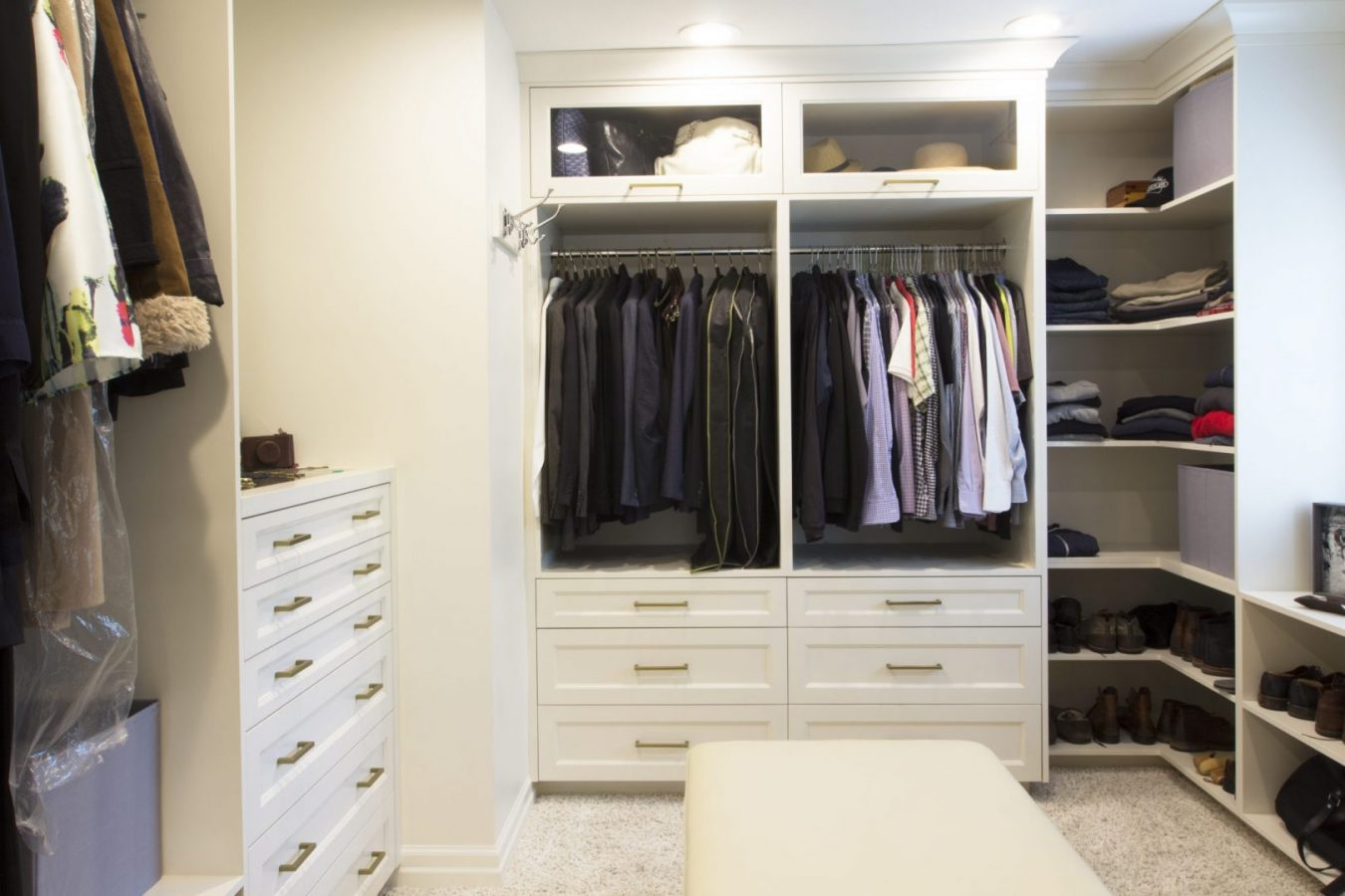 Superbe Transitional Closet U2013 Project 1