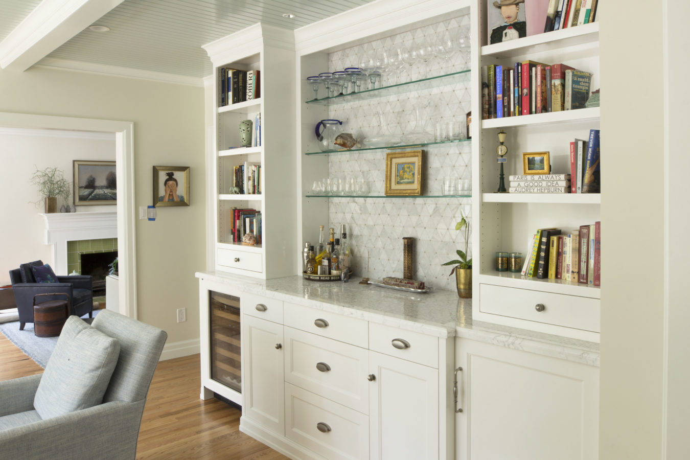 Transitional Bar - Project 2 - Teerlink Cabinet