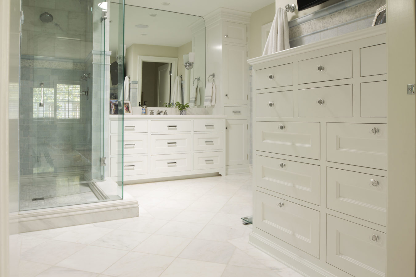 Transitional Bathroom Project 6 - Teerlink Cabinet